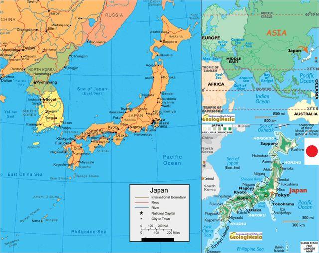 Peta Jepang