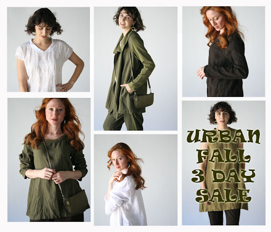 Tender Treasures - Gerry's Blog: Flax Fall Urban 3 Day Sale October 28-30
