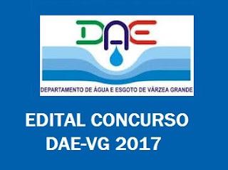 Apostila concurso DAE-VG 2017 Várzea Grande MT 2017