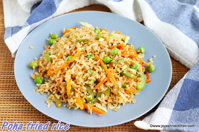 Poha fried rice