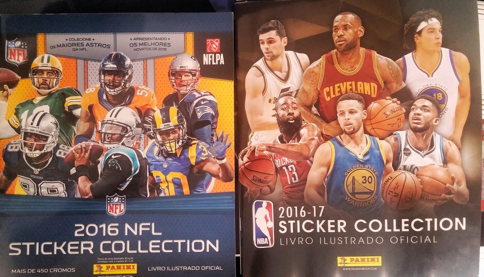 Panini investe em álbuns de figurinhas de esportes americanos ... 63486625c26