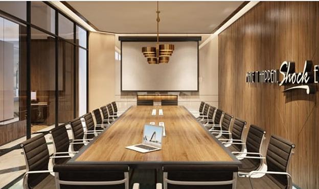 Desain Meeting Room yang Dimiliki Go-Work