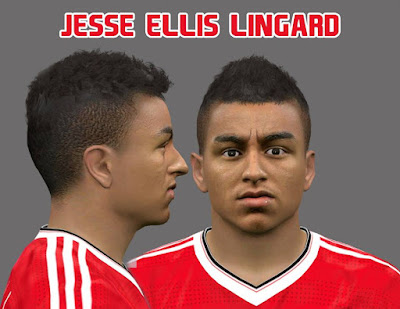 PES 2016 Jesse Ellis Lingard Face by Ozy_96