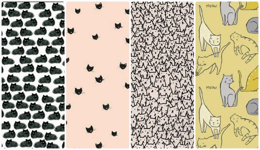 fondo de pantall whatsapp gatos gatitos whatsapp celular black cat pink wallpaper phone iphone android free cat