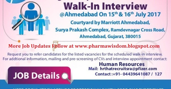 Walk in interview pharma ahmedabad : Sphtx coin address guide