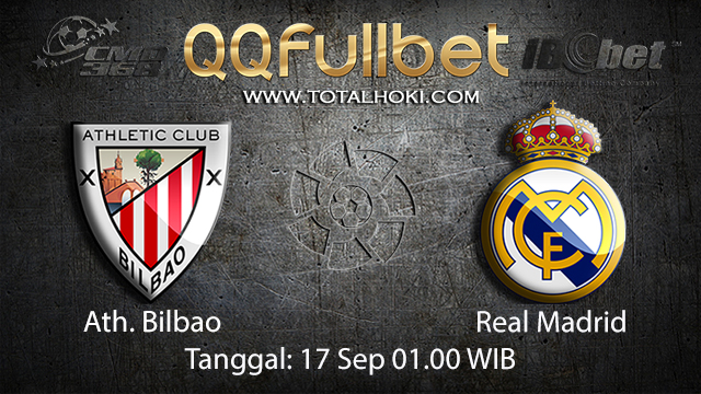 Prediksi Bola Jitu Ath. Bilbao vs Real Madrid 17 September 2018 ( Spanish La Liga )
