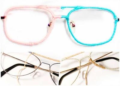 Arreglar Monturas de Gafas enrollando Hilos