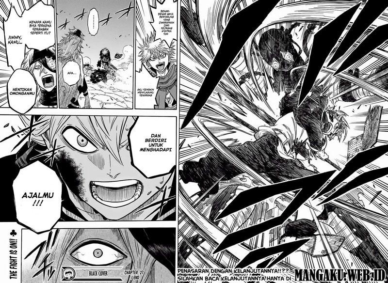 Baca Manga Black Clover Chapter 27 Bahasa Indonesia