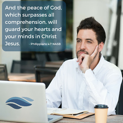 And the peace of God, which surpasses all comprehension, will guard your hearts and minds in Christ Jesus.