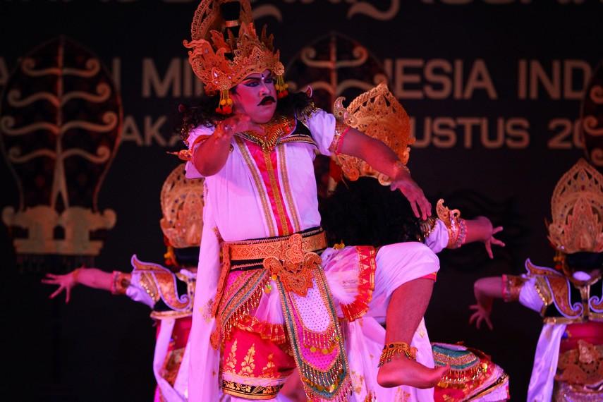 Pertunjukan Tari Durga Mahisasura Mardini