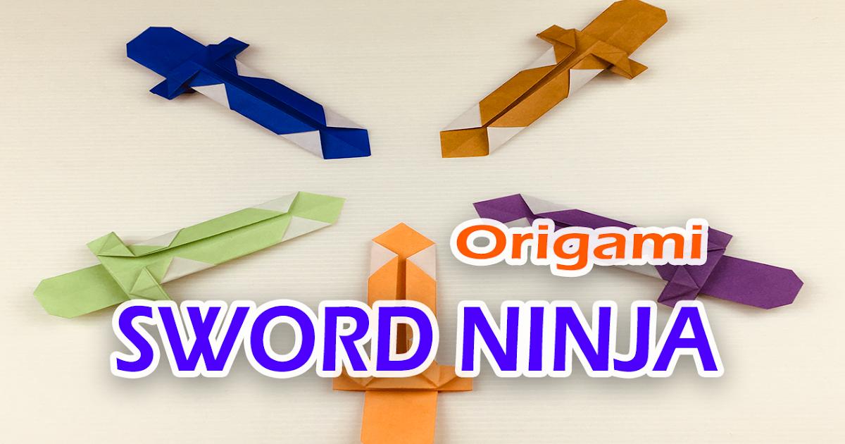 Origami Sword || Easy Paper Sword || DIY - YouTube | 630x1200