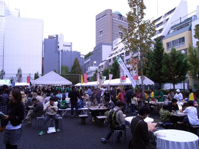 Kanda Curry Grand Prix 2016, at Ogawa Plaza in Tokyo's Chiyoda Ward