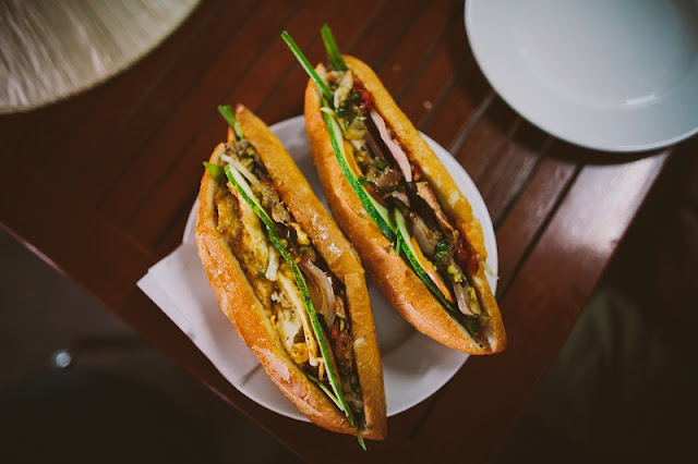 Banh Mi Hoi An are among the top 10 sandwiches the best  in the world