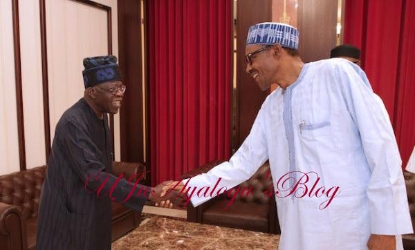 Again, Buhari Meets With Tinubu Inside Aso Rock