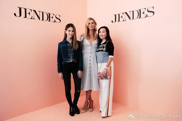 Hannah Quinlivan Jendes fashion brand
