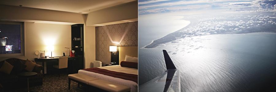 hotel room flight japan hokkaido