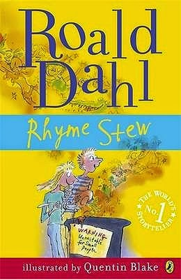 Books over all book review rhyme stew by roald dahl for Roald dahl book review template