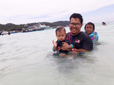 Pakej Pulau Redang Day Trip oleh Allur Galley Suite Memang Awesome