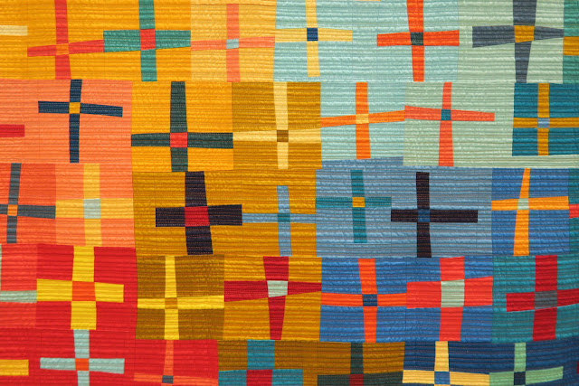 Quiltcon 2019 - At the Junction by Marla Varner