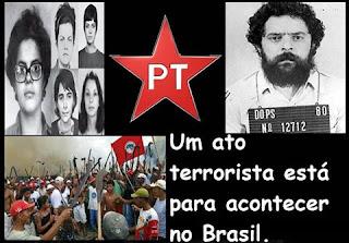 """DILMA Roussef pode implementar ATENTADO TERRORISTA. O """"cavalo de troia está aqui"""", diz o capitão-deputado Jair Bolsonaro."""