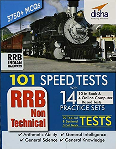 101 Speed Test for RRB NTPC by Disha Publication Free PDF