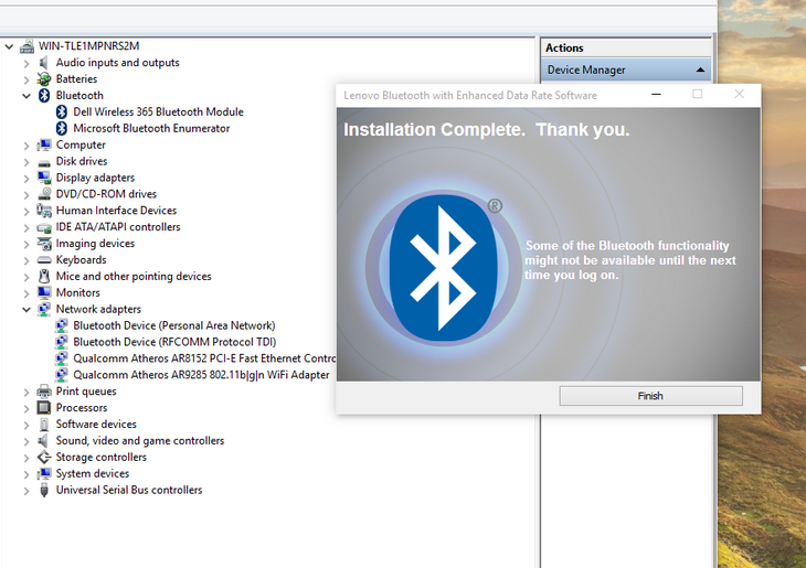 How to Install Dell 365 Bluetooth Module Compatible Driver