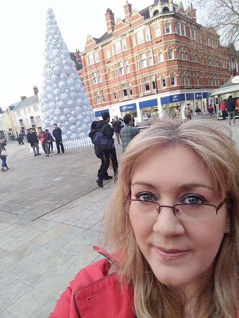 Peterborough's 'Christmas Tree' is best viewed with your back to it
