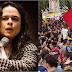 """Manifestações usam """"factoide com o fim de derrubar Bolsonaro"""", diz Janaína Paschoal"""