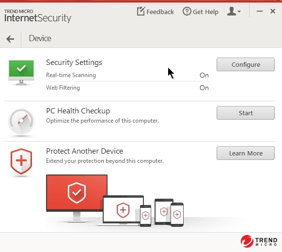 Antivirus internet Security