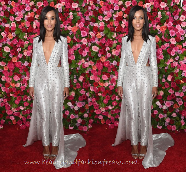 Kerry Washington in Atelier Versace Couture