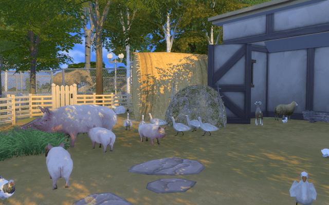 petite ferme sims 4 à télécharger