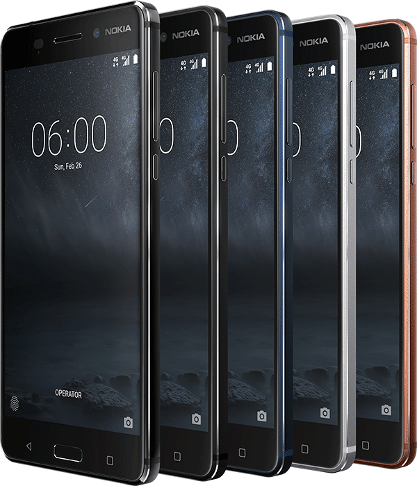 Nokia 6 In Different Colors And Views Kenya Price | Daily Updates