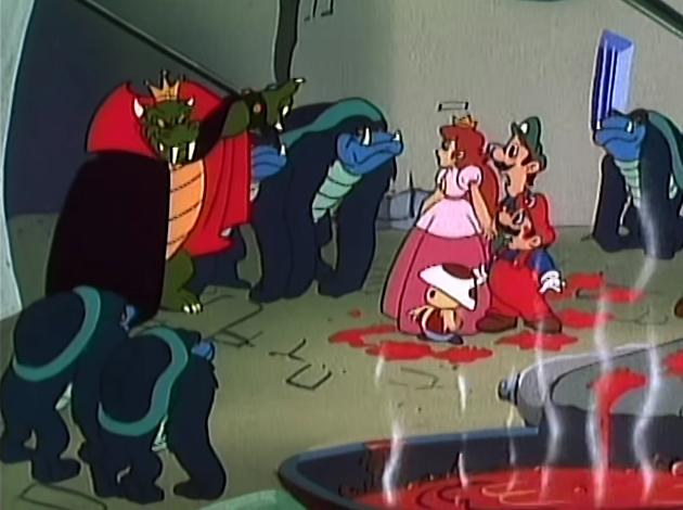 Count Koopula wereturtles werekoopas vampire King Koopa Super Mario Bros. Super Show