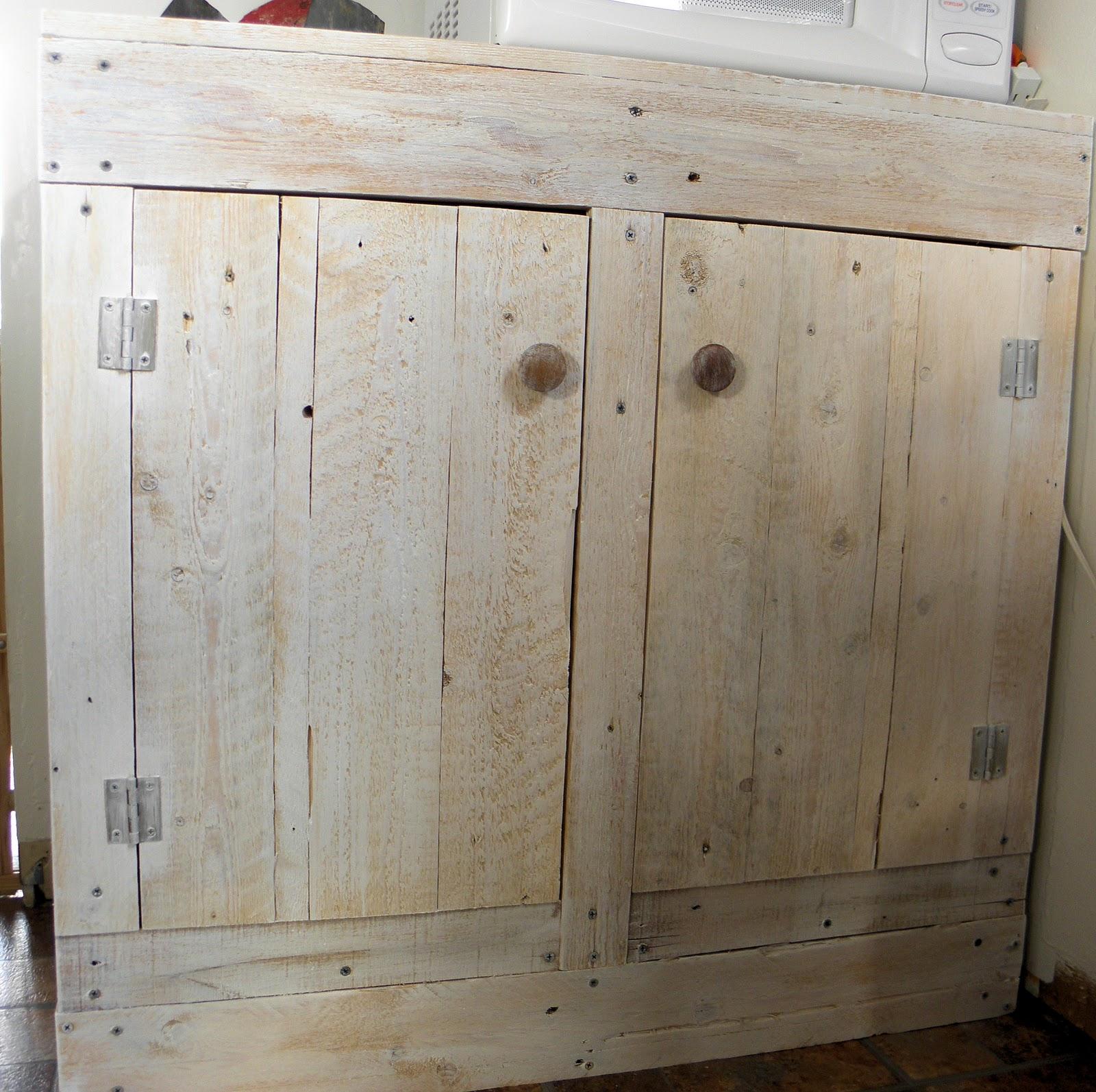 Redo Kitchen Cabinet Doors Shabby Love Pallet Cabinet