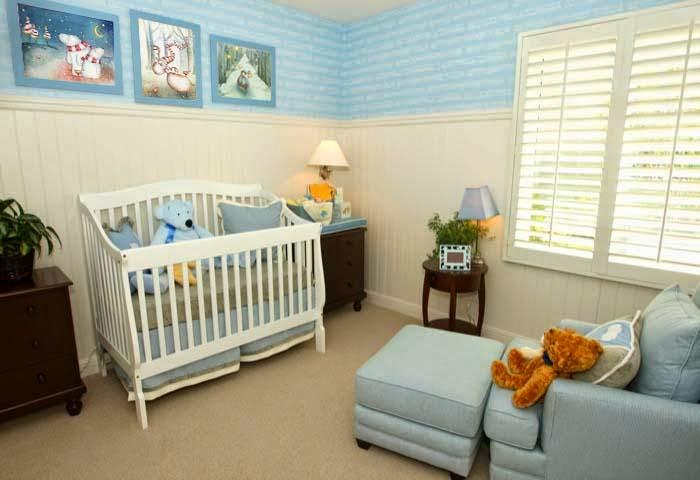 diseño habitación de bebé