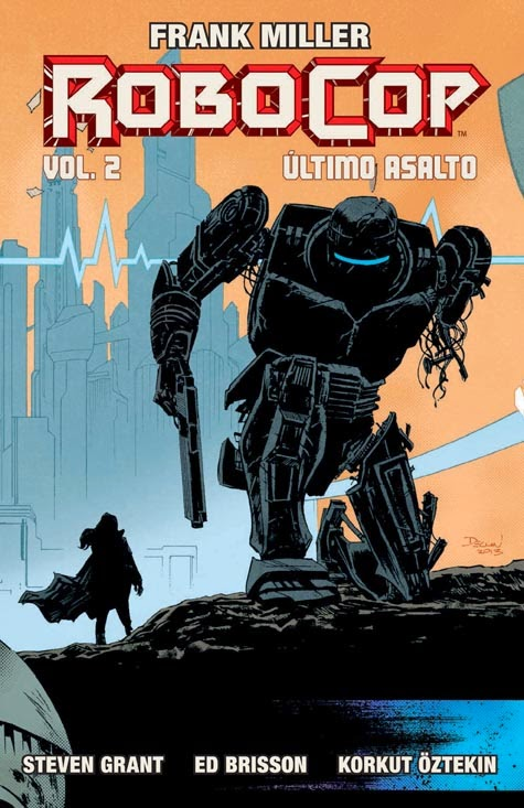 Frank Miller's Robocop Aleta               Ediciones
