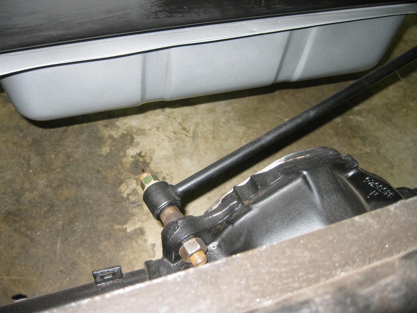 Chevy C10 Rear Gas Tank Install