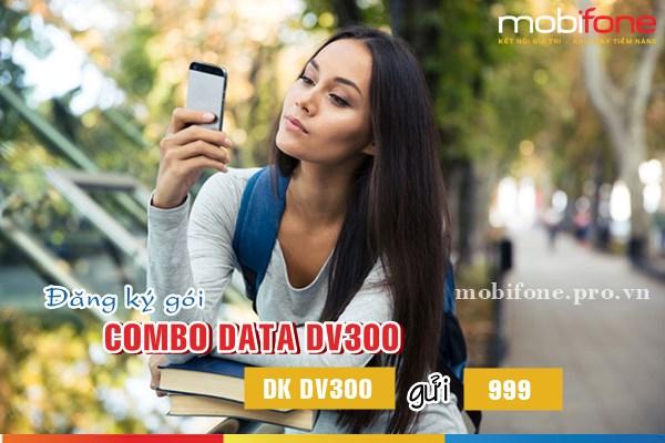 Gói combo data DV300 Mobifone