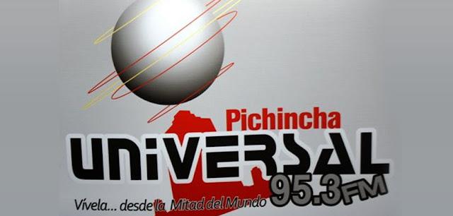 Radio Pichincha Universal afuera del aire