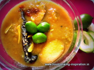Beat the heat with Mango - mango bud infused legume soup