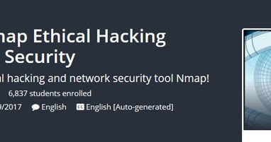 Udemy - The Complete Nmap Ethical Hacking Course Network