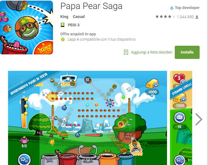 Soluzioni Papa Pear Saga livello 1-2-3-4-5-6-7-8-9-10-11-12-13-14-15 | Trucchi e Walkthrough level