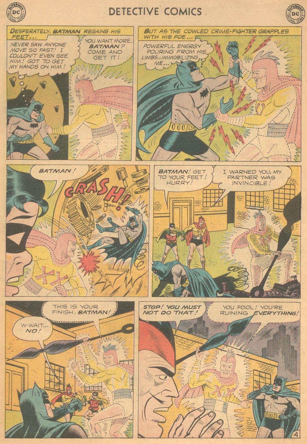 Read online Detective Comics (1937) comic -  Issue #261 - 6