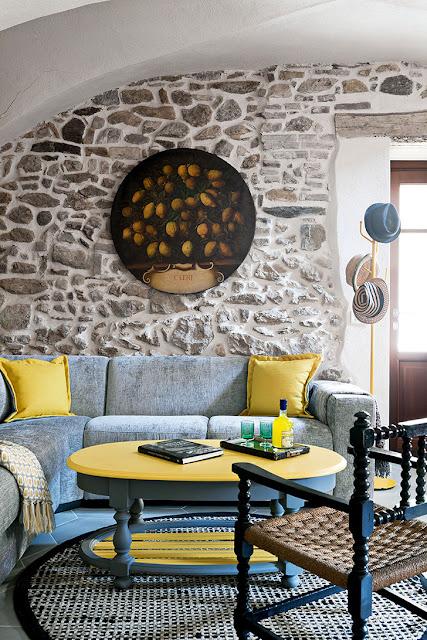 Delicatețe rustică într-o casă de piatră din Italia