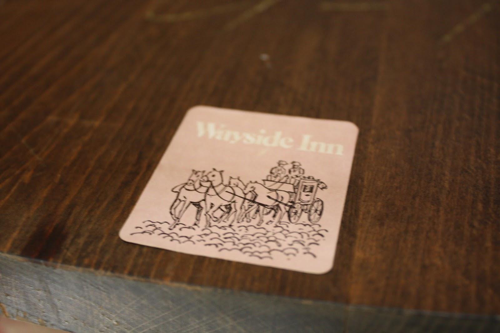 Wayside Inn label