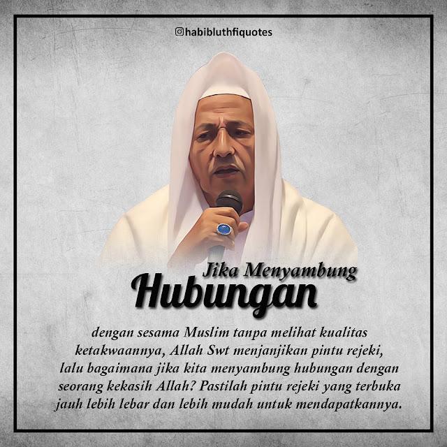 Kata Mutiara Nasehat Hati dari Habib Luthfi Bin Yahya Tentang ( Pintu Rejeki )