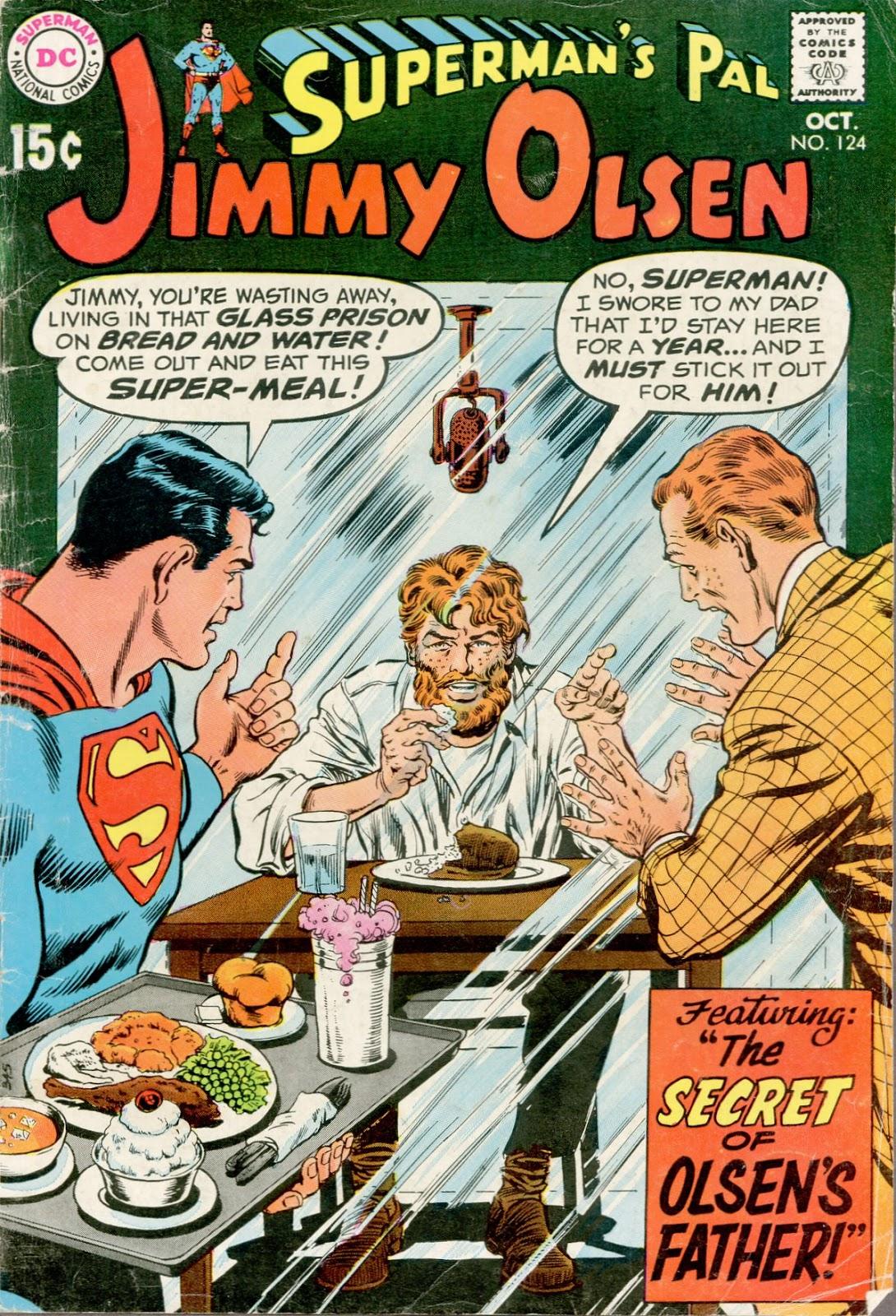 Supermans Pal Jimmy Olsen (1954) 124 Page 1