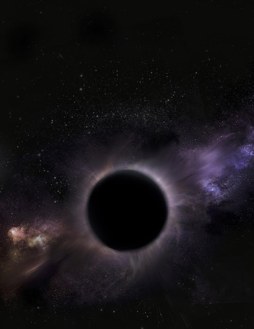 A middleweight black hole is hiding at the center of a giant star cluster