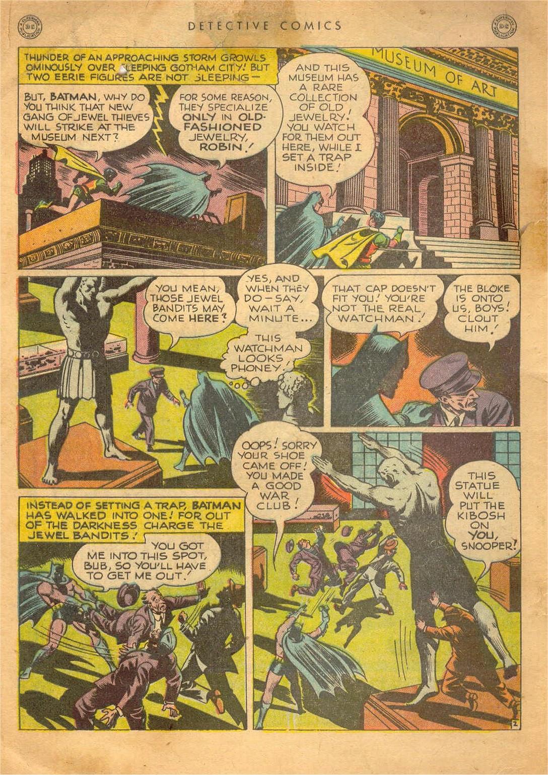 Detective Comics (1937) 129 Page 2