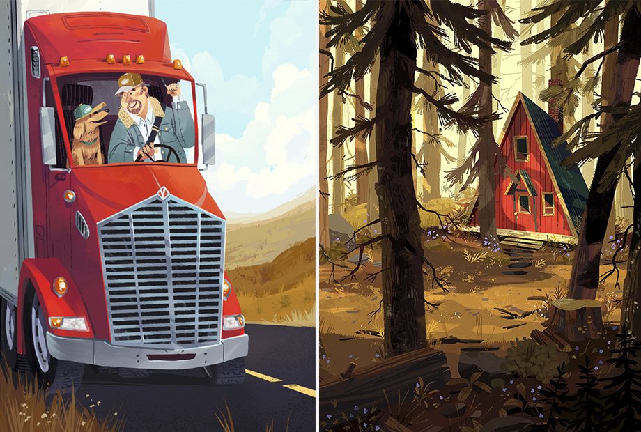 Ilustración editorial de Kim Smith | Calgary, Alberta, Canadá